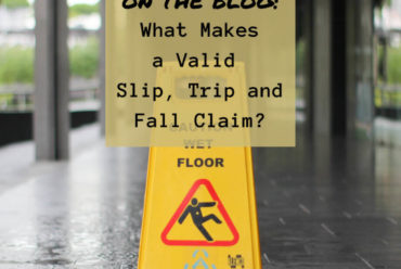 What Makes a Valid Slip, Trip, and Fall Claim?